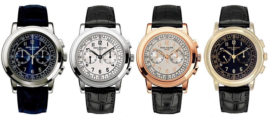 Face to face: Patek Philippe Chronograph 5070 versus 5170