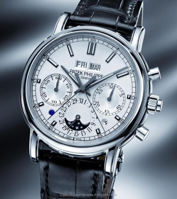 buy popular f3bf5 7c7c7 Baselworld 2012: the new Patek Philippe split-seconds ...