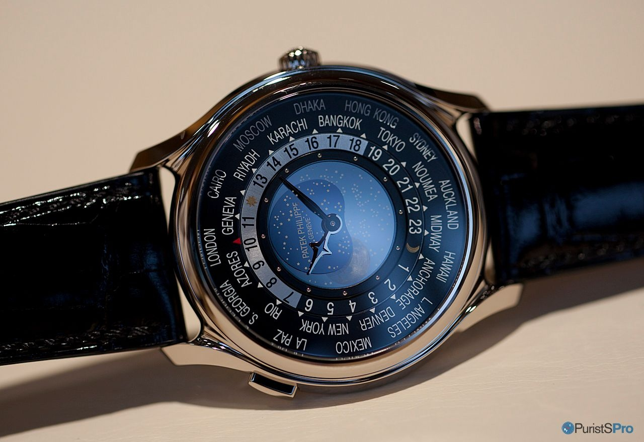 Pp World Time Moon Refs 5575 And 7175 Hands On Impressions Live Pictures