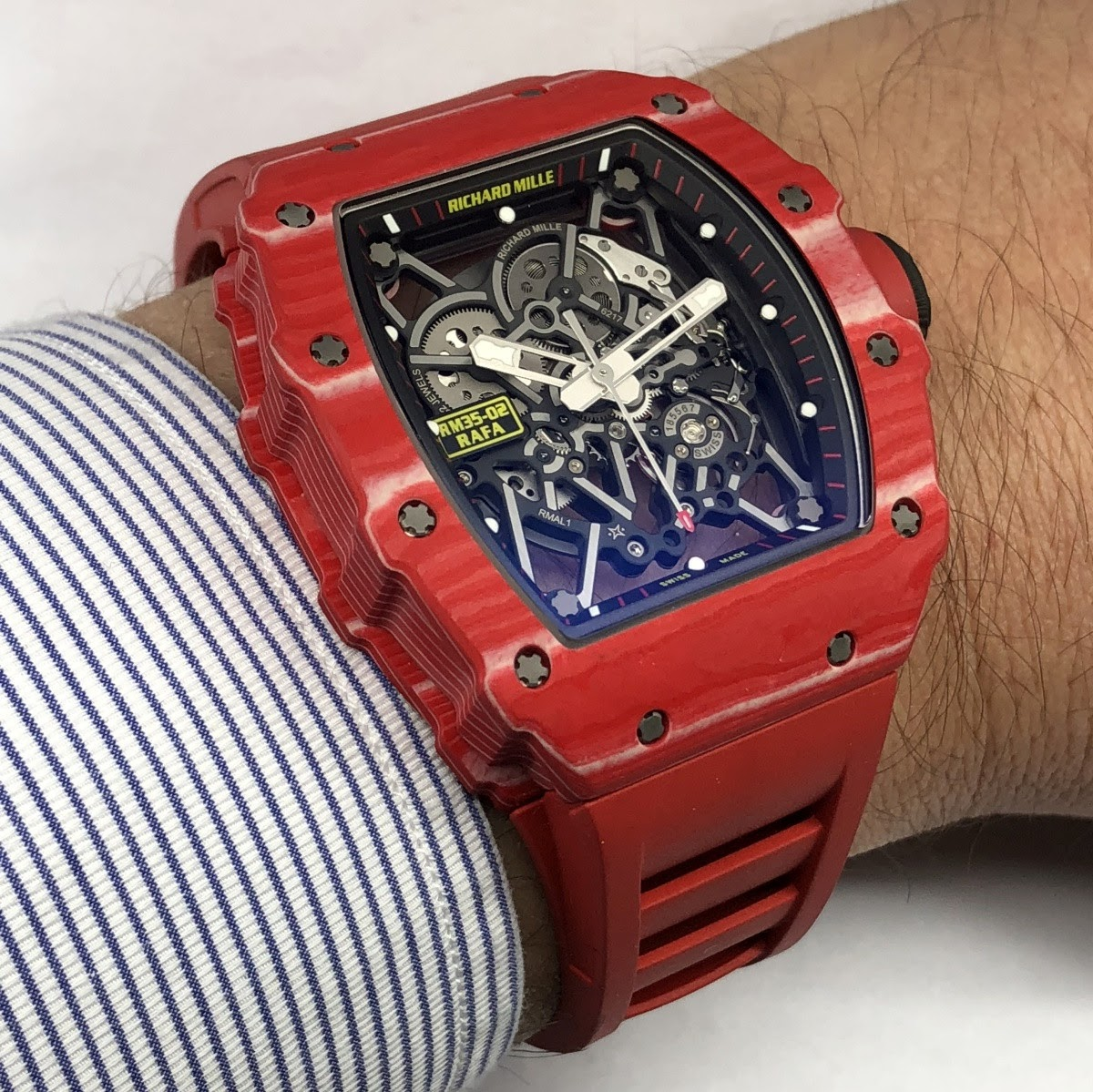 Hands On Review Of The Richard Mille Rm35 02 Rafael Nadal